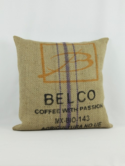 Coussin Belco violet