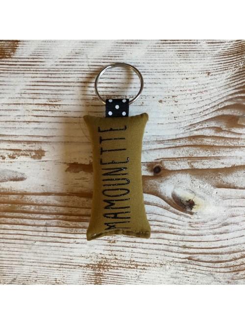 Porte-clés mamounette...