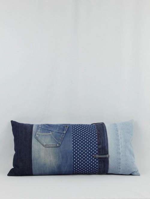 Coussin en jean