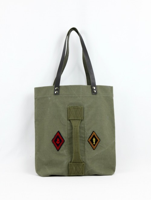 Tote bag écussons